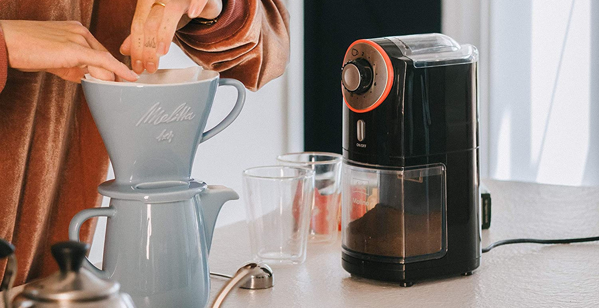 Best Coffee Grinders for the Banner Image
